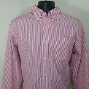 LAUREN RALPH LAUREN Striped Shirt Size 16 1/2